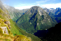 Milford Track, Mackinnon Pass, New Zealand