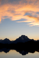 Sunset at Oxbow Bend, Wyoming