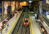 Subway Station, Santiago