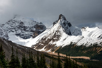 View from Parker Ridge Trail, Icefields Parkway, Alberta