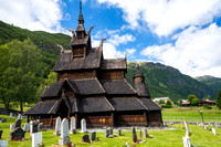 Borgund Stave-Church Built in 1183