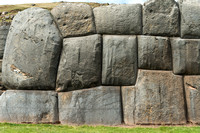 Wall at Saqsayhuaman Fortress, Cusco