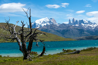 Blue Lake & the Towers, Torres del Paine