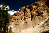 Frijoles Canyon Cliffs, Bandelier National Monument
