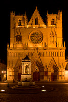 St Jean Cathedral at Night, Lyon