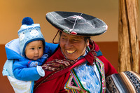 Woman & Child, Chinchero