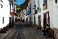 Street in San Blas District, Cusco